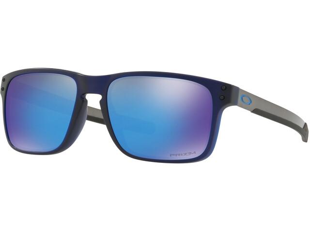 Oakley Holbrook Mix Sunglasses Matte Translucent Blue/Prizm Sapphire